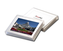 three monuments notecard